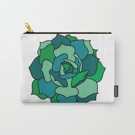Shades of Succulent Carry-All Pouch