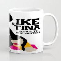 tina Mugs featuring IKE & TINA by zzglam