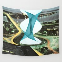 architecture Wall Tapestries featuring Brave Architecture by Humdrum Jetset