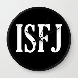 ISFJ Wall Clock