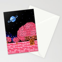 Celestial Fields of Fleeting Dreams Stationery Cards