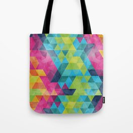 Fragmented folds Tote Bag
