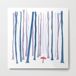 WinterLikeForest Metal Print