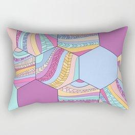 BRAIDSHEXSUMMER Rectangular Pillow