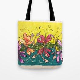 Water Lillies Tote Bag