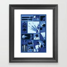 Street Fighter II Art Deco Framed Art Print