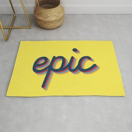 Epic - yellow version Rug