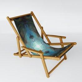 Sea Turtle Moon Sling Chair