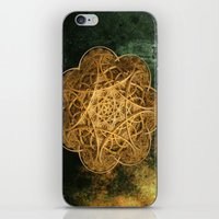 celtic iPhone & iPod Skins featuring Celtic Gold by Lynn Bolt