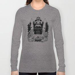The Royal Kingdom of the Sleepy Forest Long Sleeve T-shirt