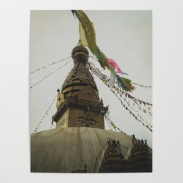 Exploring the City of Kathmandu in Nepal Poster