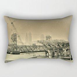 Cleveland Ambrotype Crop Rectangular Pillow
