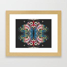 Cuentos de amor de locura y de muerte / 004 Framed Art Print