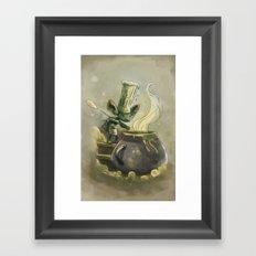Goblins Drool, Fairies Rule! - Earwax Stew Framed Art Print