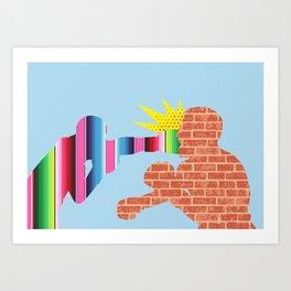 F*@K the Wall Art Print