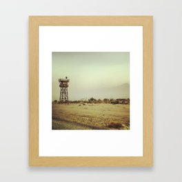 Manzanar Watchtower Framed Art Print