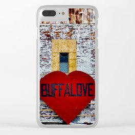 Buffalo Urban statement Clear iPhone Case