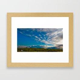 Clouds VII Framed Art Print