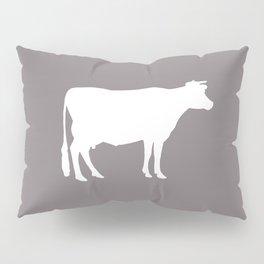 Cow: Purple Lavender Pillow Sham