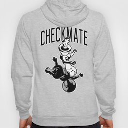 Checkmate Punch Funny Boxing Chess Hoodie