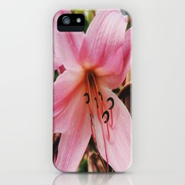 Mother Lily iPhone Case