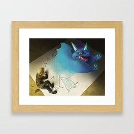 Young Inspiration Framed Art Print