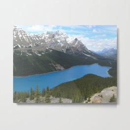 Peyto Lake, Canada Metal Print