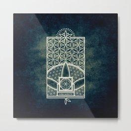 Ultra Sacred Geometry Metal Print