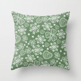 Irish Lace Throw Pillow