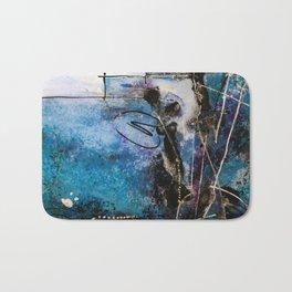 Midnight Sky, Acrylic artwork Bath Mat