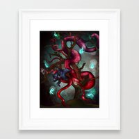 soul eater Framed Art Prints featuring Soul eater Tree by Sampsonknight