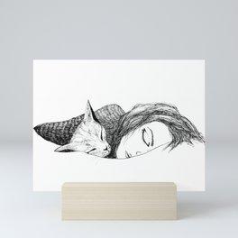Time to sleep Mini Art Print