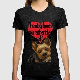 Pretty Puppy T T-shirt
