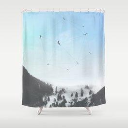 Fly Fly Away III Shower Curtain