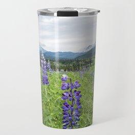 Lupin and the Beauty of Alaska Travel Mug