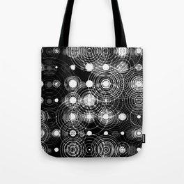Wet circle stamps Tote Bag