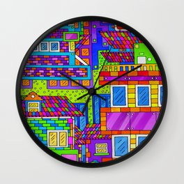 Overblock Wall Clock