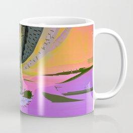 Tree Cactus in Bloom at Dawn Coffee Mug