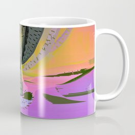 Tree Cactus in Bloom at Dawn Coffee Mug