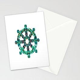 Wheel of TieDye Stationery Cards