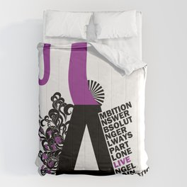 A is the Letter Comforters