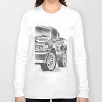 mustang Long Sleeve T-shirts featuring Mustang by WNN Creations