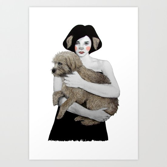 Rena Art Print
