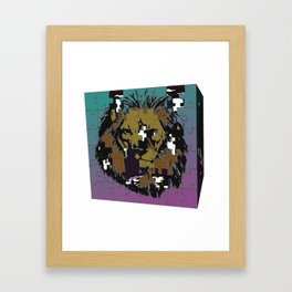 Unfinished Puzzle Framed Art Print
