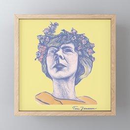 Tove Jansson Framed Mini Art Print