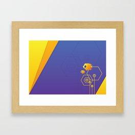 Addis Butterflyfish Framed Art Print