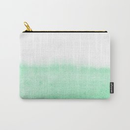 Mint watercolor Carry-All Pouch