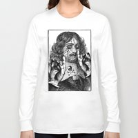 heavy metal Long Sleeve T-shirts featuring HEAVY METAL I by DIVIDUS