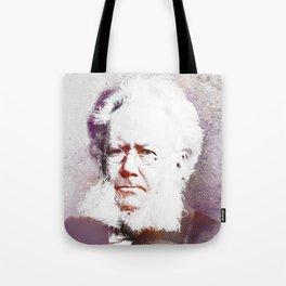 Henrik Ibsen Tote Bag