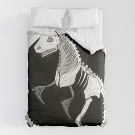T-Rex Skeleton Comforters